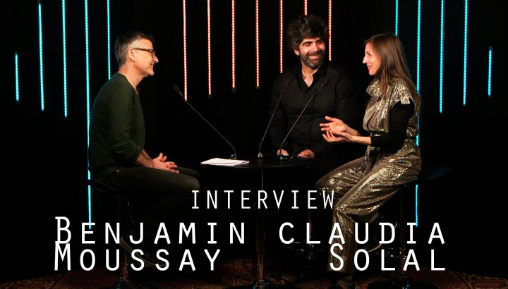 Claudia Solal et Benjamin Moussay (Punk Moon) - Interview avec JazzMag