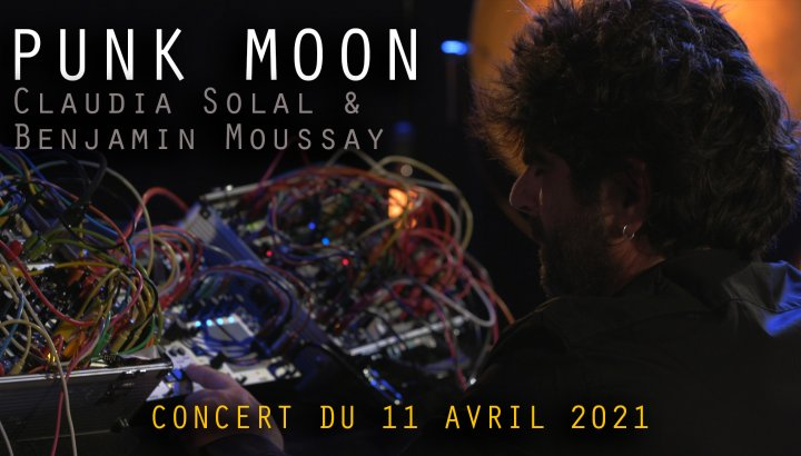 Punk Moon - Claudia Solal et Benjamin Moussay - TRIT[ON AIR]
