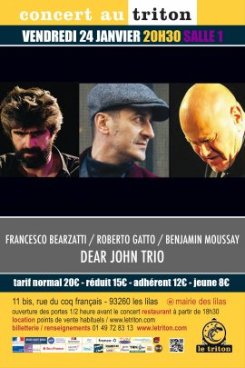 FRANCESCO BEARZATTI / ROBERTO GATTO / BENJAMIN MOUSSAY
